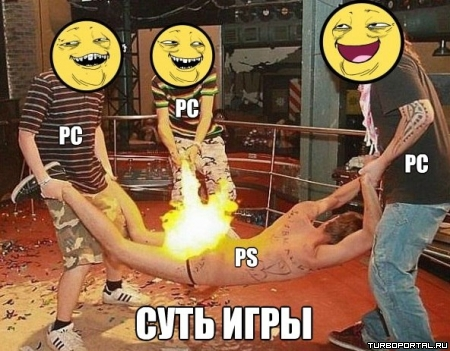 PC vs PlayStation - Суть игры