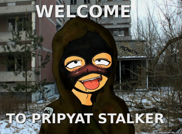 Welcome to Pripyat stalker
